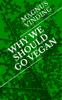 Magnus Vinding - Why We Should Go Vegan artwork
