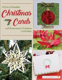18 Free Printable Christmas Cards and Homemade Christmas Card Ideas