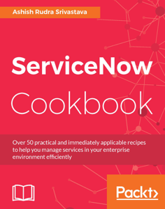 ServiceNow Cookbook Boekomslag