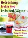 Refreshing Fruit  Herb Infused Water