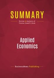 SUMMARY: APPLIED ECONOMICS