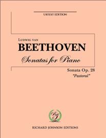 "Beethoven Piano Sonata No. 15 Op. 28 ""Pastoral"""