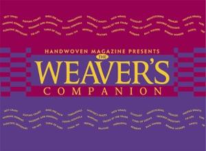 The Weaver's Companion Book Cover