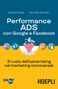 Performance ADS con Google e Facebook Copertina del libro