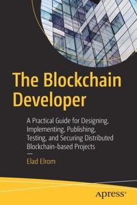 The Blockchain Developer Book Cover