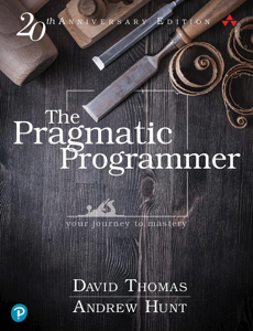 The Pragmatic Programmer: your journey to mastery, 20th Anniversary Edition, 2/e Buch-Cover
