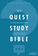 NIV, Quest Study Bible