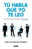 José Luis Martín Ovejero - Tú habla, que yo te leo portada
