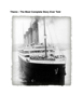 Matthew Vollbrecht - Titanic - The Most Complete Story Ever Told - Anniversary Edition portada