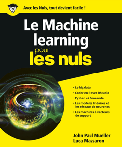Le Machine Learning Pour les Nuls Couverture de livre
