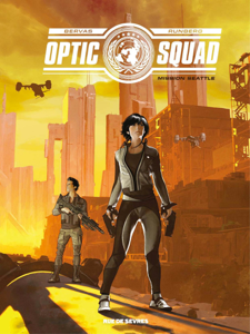 OPTIC SQUAD La couverture du livre martien