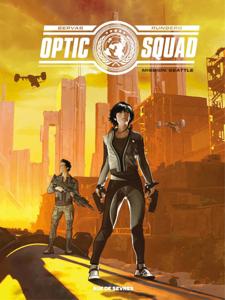OPTIC SQUAD La couverture du livre martien