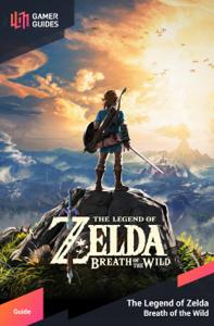 The Legend of Zelda: Breath of the Wild - Strategy Guide Copertina del libro