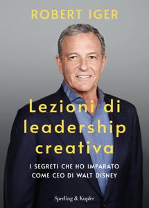 Lezioni di leadership creativa Copertina del libro
