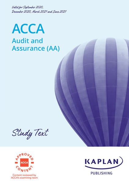 ACCA - Audit and Assurance (AA)
