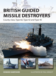 British Guided Missile Destroyers Book Cover