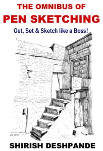 The Omnibus of Pen Sketching Boekomslag
