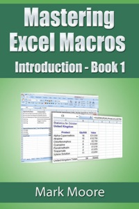 Mastering Excel Macros: Introduction Book Cover