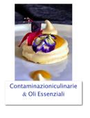 Le Contaminazioniculinarie con gli Oli Essenziali Book Cover