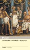 Anfitrione – Bacchidi – Menecmi Book Cover
