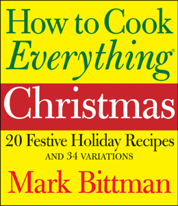 How to Cook Everything: Christmas Book Cover