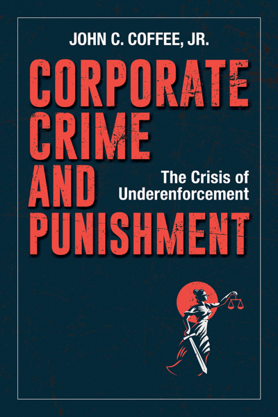 Corporate Crime and Punishment