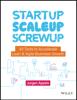 Jurgen Appelo - Startup, Scaleup, Screwup kunstwerk