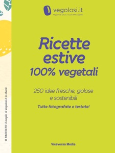 Ricette estive 100% vegetali Book Cover
