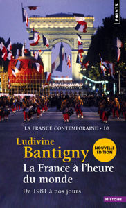 La France à l'heure du monde - De 1981 à nos jours La couverture du livre martien