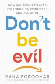 Don T Be Evil