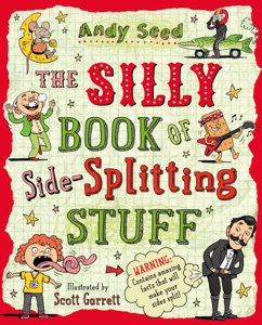 The Silly Book of Side-Splitting Stuff di Andy Seed Copertina del libro