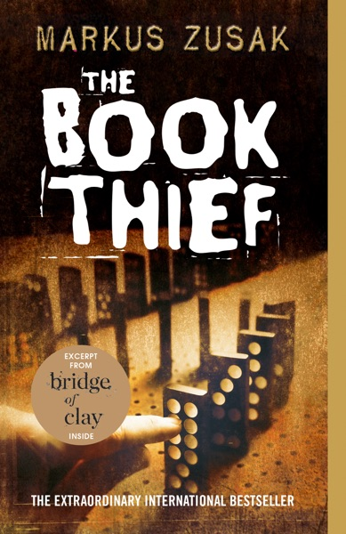 The Book Thief - Markus Zusak book cover