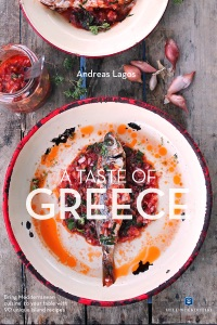 A Taste of Greece by Andreas Lagos Book Cover