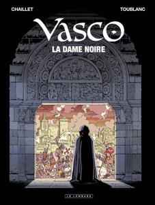 Vasco - Tome 22 - La Dame noire La couverture du livre martien