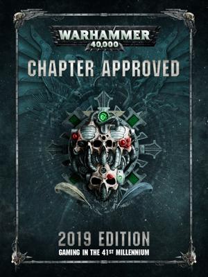 Games Workshop - Warhammer 40,000: Chapter Approved 2019 book
