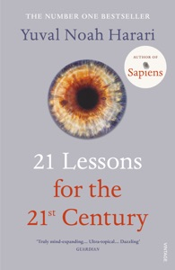 21 Lessons for the 21st Century von Yuval Noah Harari Buch-Cover