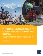 The Enabling Environment For Disaster Risk Financing In Nepal