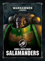 Games Workshop - Codex supplement: Salamanders artwork