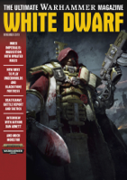 Games Workshop - White Dwarf November 2019 artwork