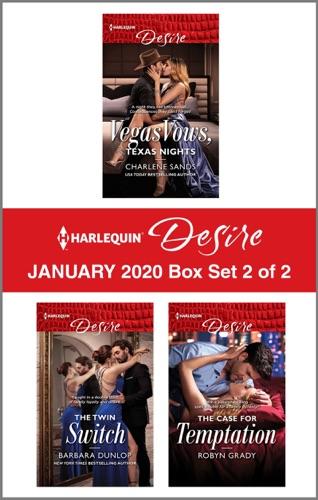 Charlene Sands, Barbara Dunlop & Robyn Grady - Harlequin Desire January 2020 - Box Set 2 of 2