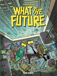 What the future La couverture du livre martien