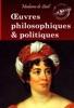 Œuvres philosophiques et politiques de Madame de Staël. Recueil complet et annoté : 4 livres [Nouv. éd. entièrement revue et corrigée].