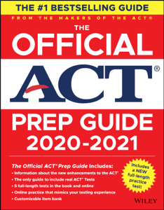 The Official ACT Prep Guide 2020 - 2021 Book Cover