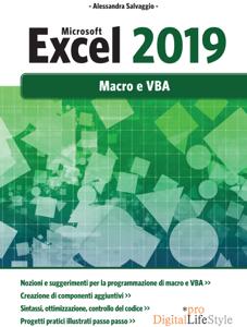 Microsoft Excel 2019 - Macro e VBA Libro Cover