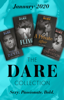 Jackie Ashenden, Stefanie London, Lauren Hawkeye & A.C. Arthur - The Dare Collection January 2020 kunstwerk