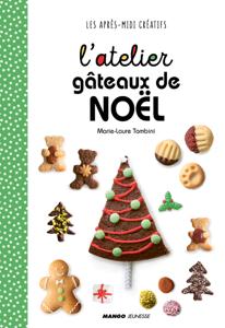L'atelier gâteaux de Noël Couverture de livre