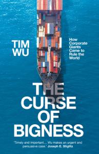 The Curse of Bigness Copertina del libro