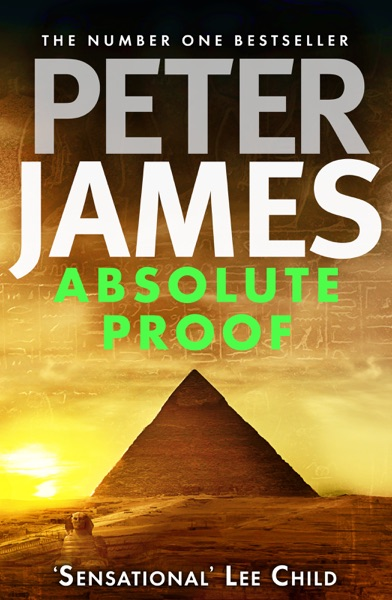Absolute Proof - Peter James book cover