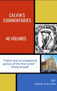 Calvin's Commentaries Book Cover