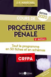 Cours de procédure pénale (édition 2020)